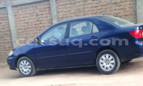 Acheter Voiture Toyota Corolla Bleu à N'Djamena en Tchad
