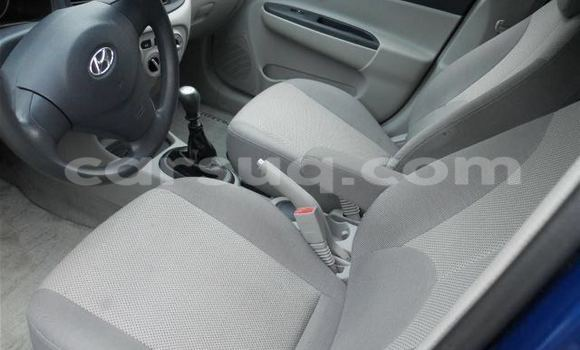 Acheter Voiture Hyundai Accent Bleu à N'Djamena en Tchad